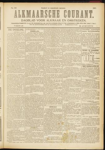 Alkmaarsche Courant 1917-08-24