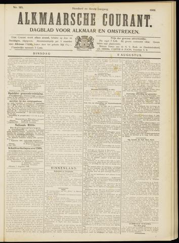 Alkmaarsche Courant 1908-08-11