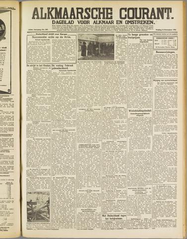 Alkmaarsche Courant 1941-11-14