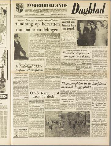 Noordhollands Dagblad : dagblad voor Alkmaar en omgeving 1962-05-09