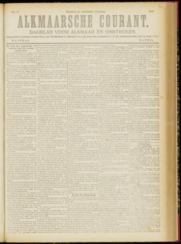 Alkmaarsche Courant 1918-04-08
