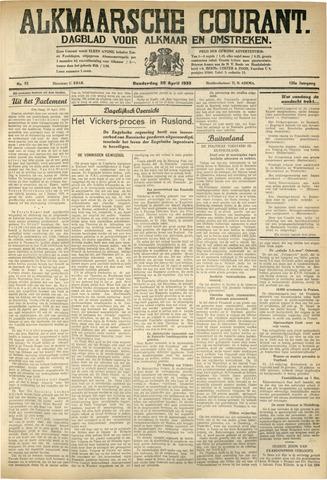 Alkmaarsche Courant 1933-04-20