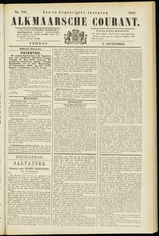 Alkmaarsche Courant 1889-09-06