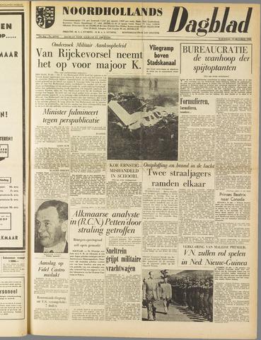 Noordhollands Dagblad : dagblad voor Alkmaar en omgeving 1960-10-19