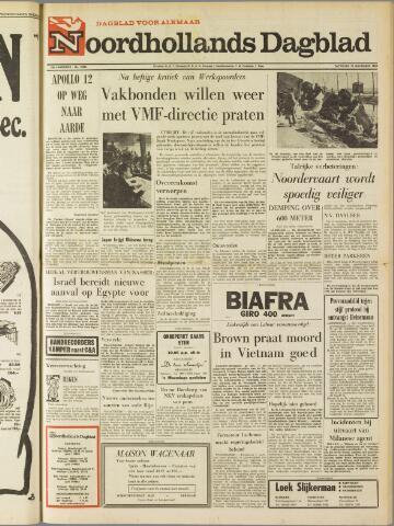 Noordhollands Dagblad : dagblad voor Alkmaar en omgeving 1969-11-22