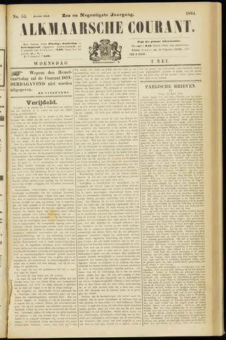Alkmaarsche Courant 1894-05-02