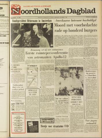 Noordhollands Dagblad : dagblad voor Alkmaar en omgeving 1969-11-24