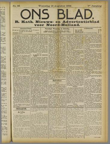 Ons Blad : katholiek nieuwsblad voor N-H 1909-08-18