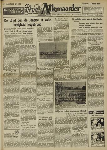 De Vrije Alkmaarder 1949-04-22