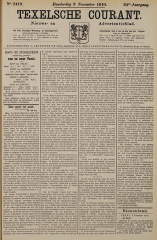 Texelsche Courant 1910-11-03