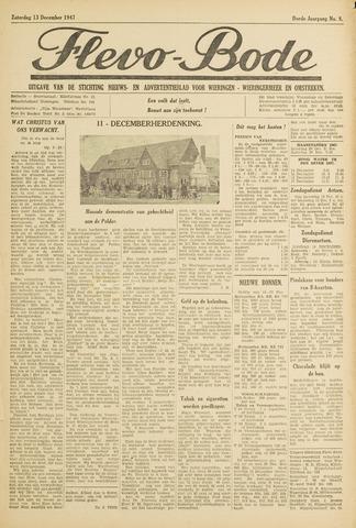 Flevo-bode: nieuwsblad voor Wieringen-Wieringermeer 1947-12-13