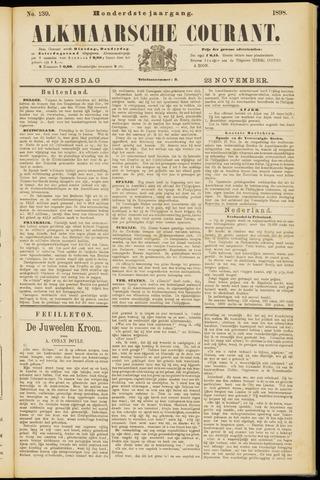 Alkmaarsche Courant 1898-11-23