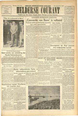 Heldersche Courant 1952-05-26