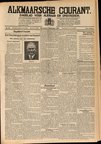 Alkmaarsche Courant 1934-11-07