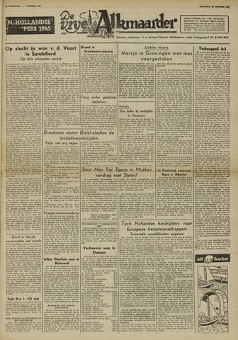 De Vrije Alkmaarder 1950-01-23
