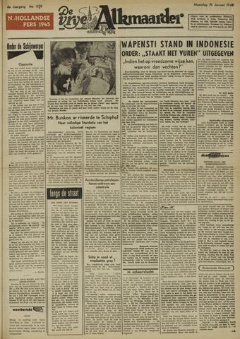 De Vrije Alkmaarder 1948-01-19