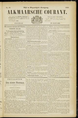 Alkmaarsche Courant 1893-01-29