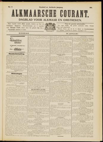 Alkmaarsche Courant 1911-01-10