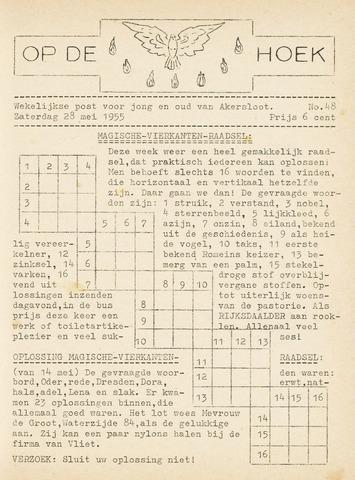Op De Hoek, weekblad voor Akersloot 1955-05-28