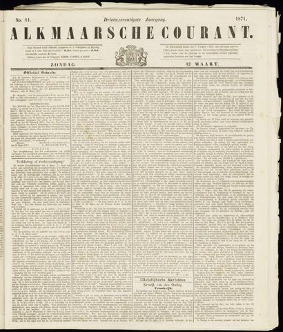 Alkmaarsche Courant 1871-03-12