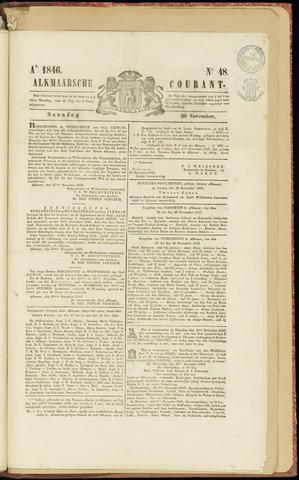 Alkmaarsche Courant 1846-11-30