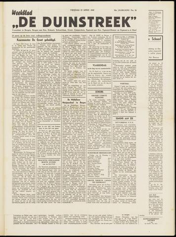 De Duinstreek 1949-04-22