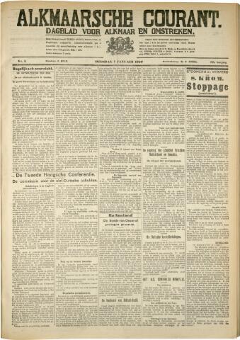 Alkmaarsche Courant 1930-01-07