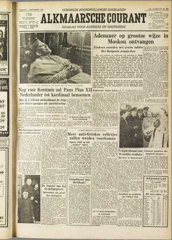 Alkmaarsche Courant 1955-09-09