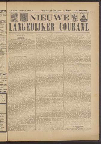 Nieuwe Langedijker Courant 1922-06-10