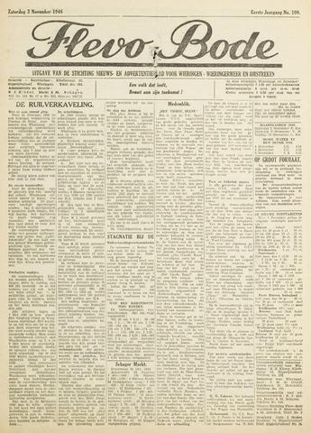 Flevo-bode: nieuwsblad voor Wieringen-Wieringermeer 1946-11-02