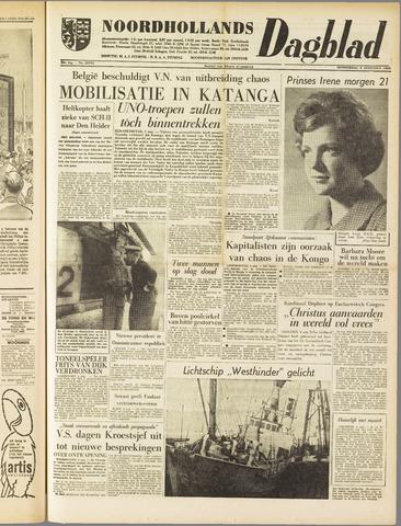 Noordhollands Dagblad : dagblad voor Alkmaar en omgeving 1960-08-04