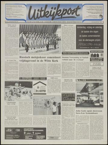 Uitkijkpost : nieuwsblad voor Heiloo e.o. 1993-08-25