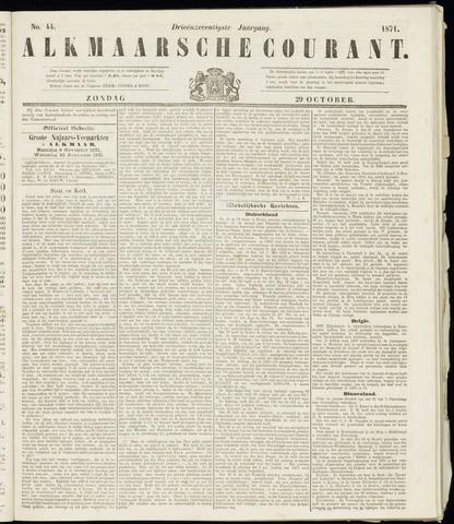 Alkmaarsche Courant 1871-10-29