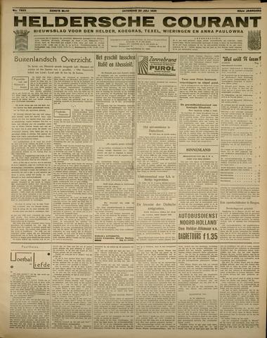 Heldersche Courant 1935-07-20