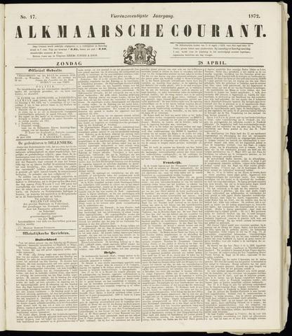 Alkmaarsche Courant 1872-04-28