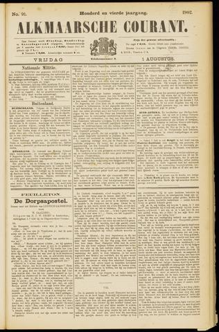 Alkmaarsche Courant 1902-08-01