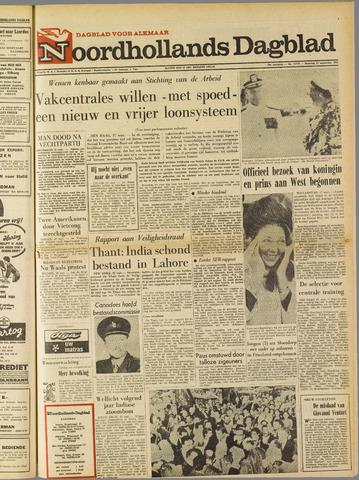 Noordhollands Dagblad : dagblad voor Alkmaar en omgeving 1965-09-27