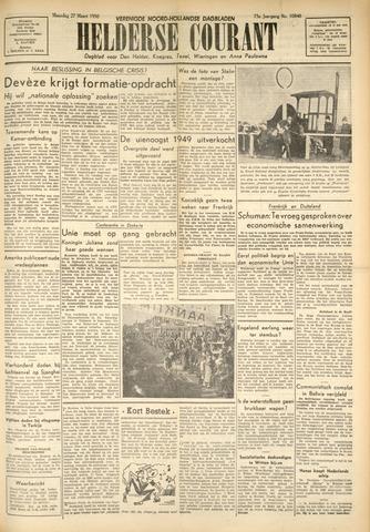 Heldersche Courant 1950-03-27
