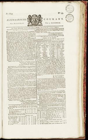 Alkmaarsche Courant 1833-12-09