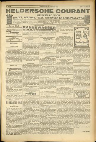 Heldersche Courant 1927-10-27