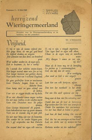 Herrijzend Wieringermeerland 1945-05-11