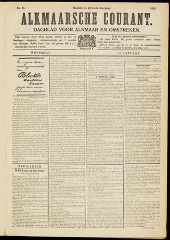 Alkmaarsche Courant 1913-01-15