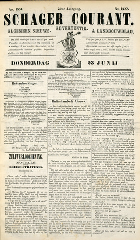 Schager Courant 1881-06-23