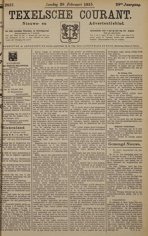 Texelsche Courant 1915-02-28