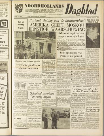 Noordhollands Dagblad : dagblad voor Alkmaar en omgeving 1961-08-25