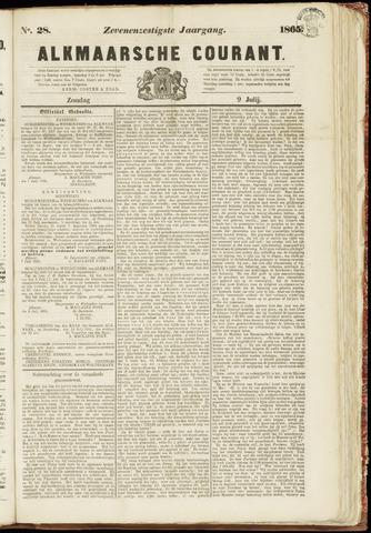 Alkmaarsche Courant 1865-07-09