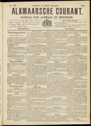 Alkmaarsche Courant 1906-07-24