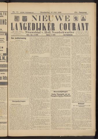 Nieuwe Langedijker Courant 1928-07-26