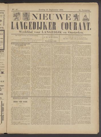 Nieuwe Langedijker Courant 1895-09-15