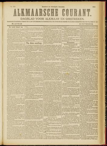 Alkmaarsche Courant 1918-11-18